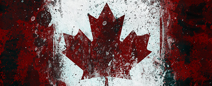 Canadian Flag by Magnaen
